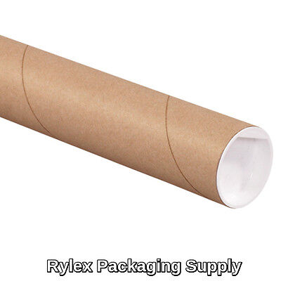 50 2x18 Kraft Mailing Shipping Packing Tubes Document Poster Blueprints