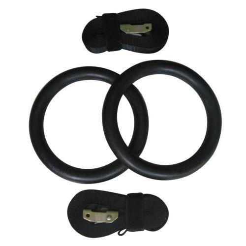 Crossfit rings gym workout yoga ebay