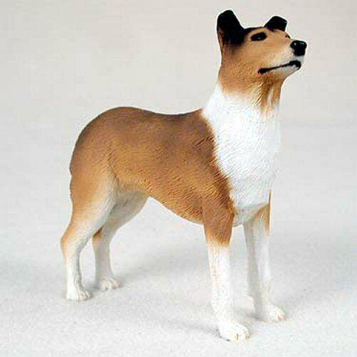 Collie, Sable, Smooth Hair, Dog Figurine, Standard Size