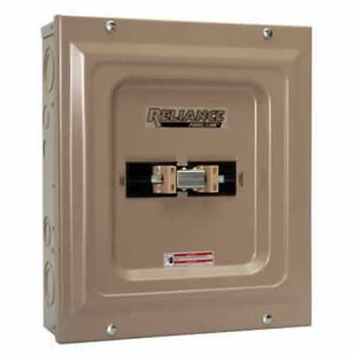 Indoor Transfer Panel - Reliance Controls 100-Amp Indoor Transfer Panel