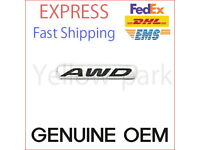"86340 J5000 Genuine /""AWD/"" Rear Emblem Nameplate For 2017 2018 Kia Stinger"