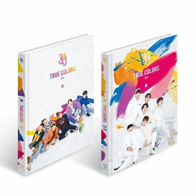 JBJ TRUE COLORS 2nd Mini Album 2 Ver SET CD PBook