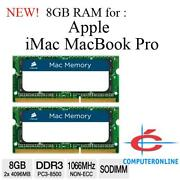 MacBook Pro RAM 8GB