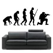 Evolution Wall Sticker