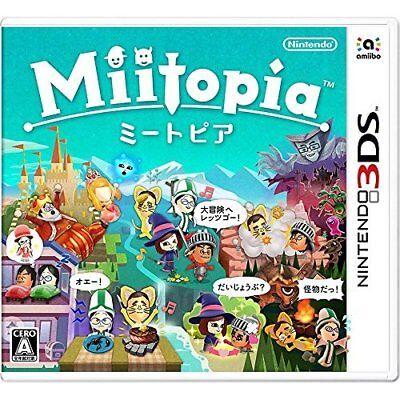 New 3Ds Miitopia Japan Import