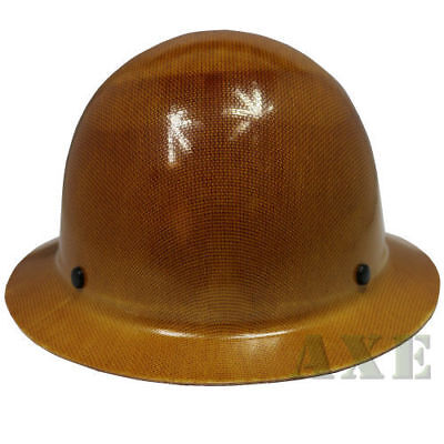 MSA Safety Work 475407 Skullgard Hard Hat w/ Fast-Trac Suspension Natural Tan