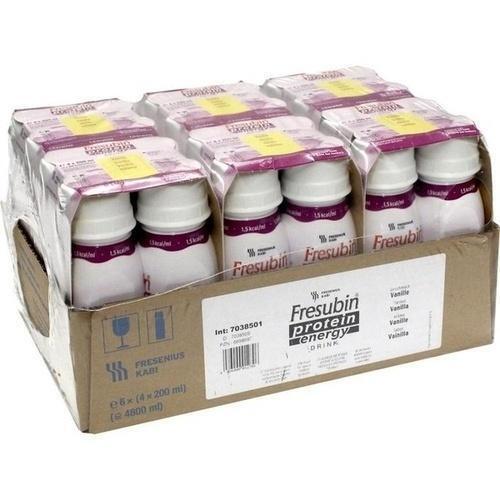 FRESUBIN PROTEIN Energy DRINK Vanille Trinkfl. 6X4X200 ml
