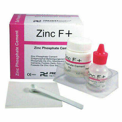 Permanent Tooth Filling Dental Cement Kit Zinc Polycarboxylate Cement Zinc F Eb