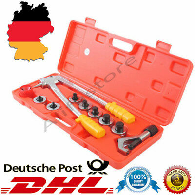 10mm-28mm Hydraulic Tube Expander 7 Lever Swaging Plumbing Kit Hvac Tool Pipe