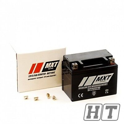 Rollerbatterie Roller Batterie 5Ah 12V Rex RS 250 450 460 500 600 700 750 900