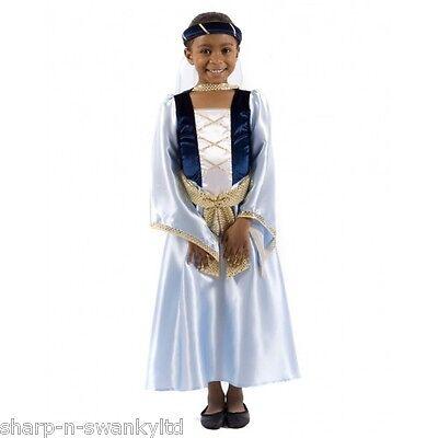 Kinder Mädchen Maid Marion Robin Hood Mittelalterliche - Maid Marion Kostüm Kinder