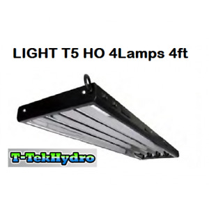 Aquarium/Fish LIGHT T5 HO 4 Lamps 4ft complete with fixture