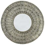 Mirror Candle Plate
