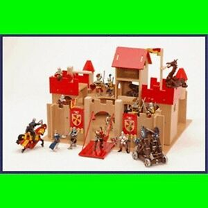 Le Toy Van King Alfred's Wooden Castle For Knights