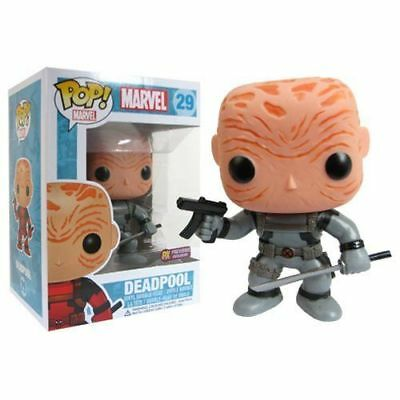 DAMAGED BOX Funko Pop  Deadpool Grey Unmasked #29 PX Previews Exclusive
