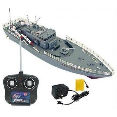 Adult kid Remote control 48cm boat ship rc radio control warship missile