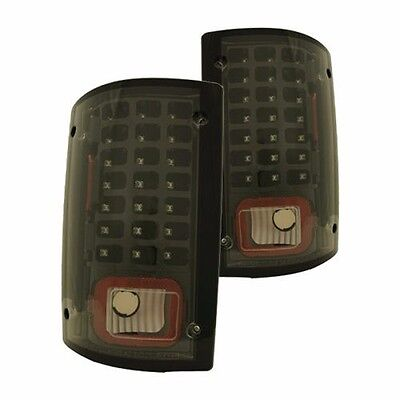 MONACO DYNASTY 2009 2010 2011 BLACK LED TAILLIGHTS TAIL LAMPS RV - SET