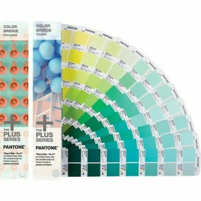 Pantone Gp6102n Color Bridge Guides Coated Uncoated The Plus Series Sealed Box