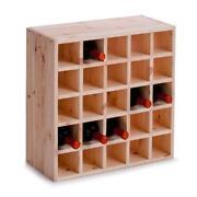 Flaschenhalter Holz