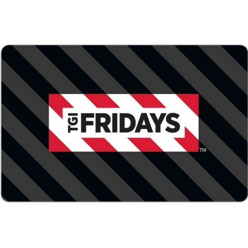 TGI Friday's $15 Gift Card for Only $9! Free Shipping, Pre-Owned Paper Card