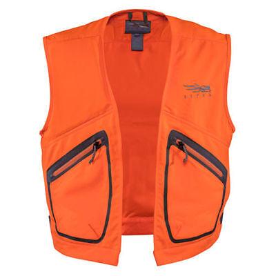 Sitka BALLISTIC Vest ~ Blaze Orange Medium NEW ~ U.S. FREE SHIPPING
