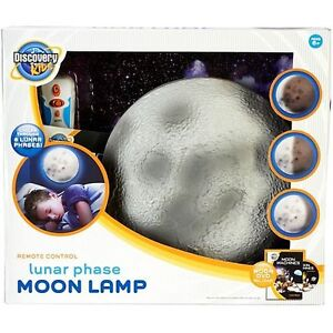 NEW: Discovery Kids Lunar Phase Moon Lamp