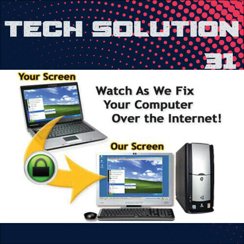 Online Remote 24/7 computer fix and support