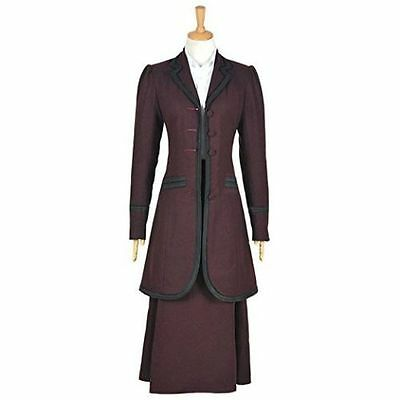 Hot! Doctor Who 8th Season Female Missy Mistress Cosplay Costume AA.0675
