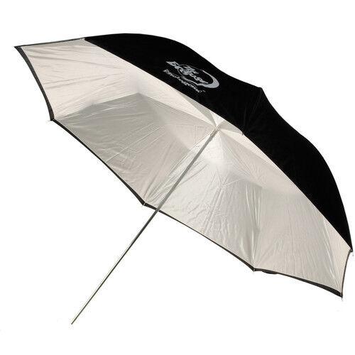 """Eclipse Umbrella , White, Black Cover, 32"""""""