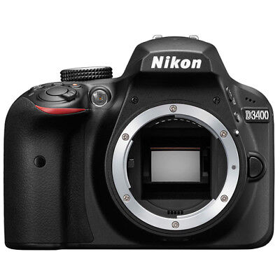 Nikon D3400 24.2 MP Digital SLR Camera Body Brand New