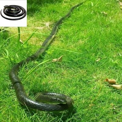 Fake Snake That Look Real Rubber Scary Gag Durable Garden Prop Realistic Toy Car - Halloween Snakes