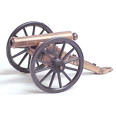CIVIL WAR Miniature 1857 Napoleon Civil War Cannon w/ Brass Barrel 18580 NEW (Collectible Miniature Civil War Cannon)