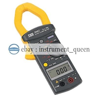 Tes-3082 True Rms Clamp Meter Auto Zerodata Hold Peak Hold New
