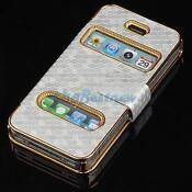 iPhone 4S Luxury Leather Cover
