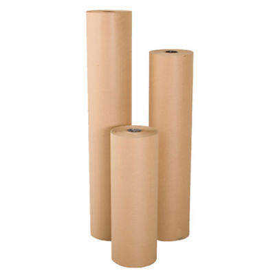 "36"" wide x 900' long 40 lb Rolled Brown Kraft Paper Shipping Void Crafting Fill"