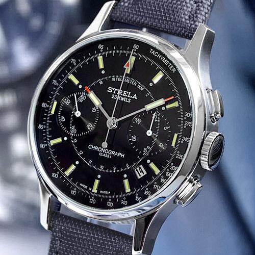 STRELA | Poljot Chrono 3133 | COSMOS LAB reloj mecánico ruso
