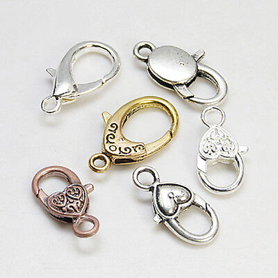 10ct 12mm Lobster Claw Clasps for Necklaces
