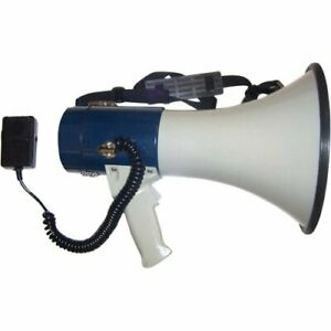 Megaphone with Detachable Coil Cord Mic