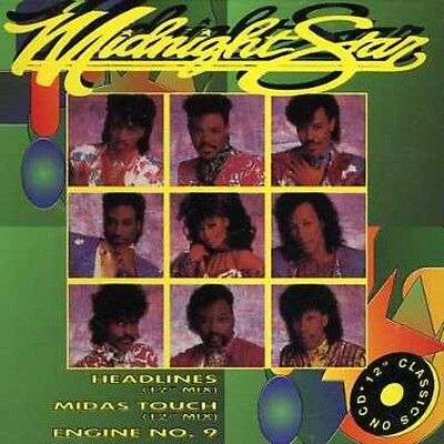 Midnight Star - Headlines/Midas Touch [New CD] Canada - (Spot Canada)