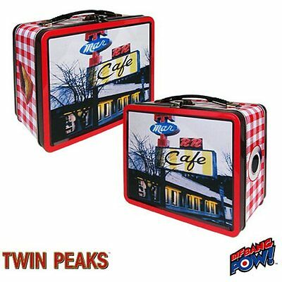 "TWIN PEAKS DOUBLE R DINER  FULL-SIZE METAL LUNCHBOX ""MIGHTY FINE CHERRY PIE!"""