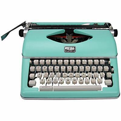 Royal 79101t Typewriter Mint Green