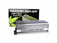 Maxibright 600w digital ballast