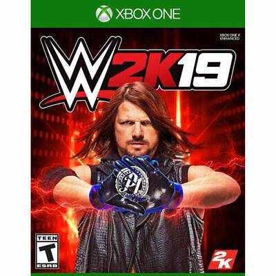 WWE 2K19 Xbox One Brand New Sealed