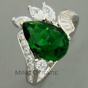Mens Emerald Ring