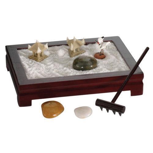 Zen garden ebay for Jardin zen miniature