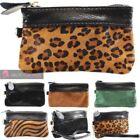 Leather Leopard Wallets for Women