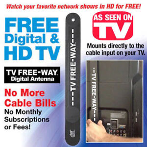 Free TV and Video as Seen on TV $20.00