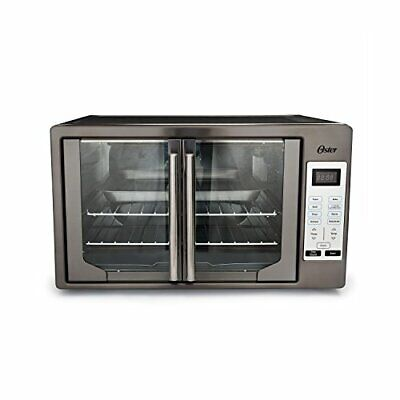 Oster TSSTTVFDDG-DS Black Stainless Steel Collection French Door Oven, Extra ...