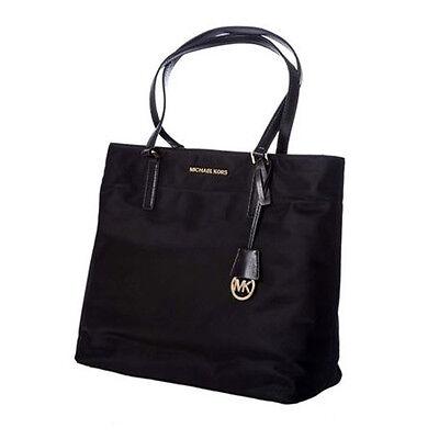 Michael Kors Bag MK Morgan Large Nylon Tote Black 30T5GOGT3C Agsbeagle