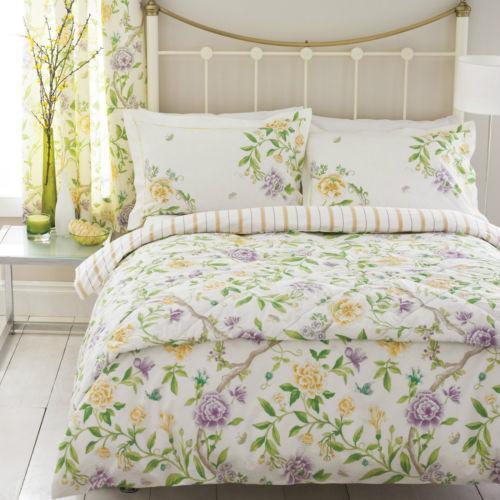 sanderson double duvet cover ebay. Black Bedroom Furniture Sets. Home Design Ideas